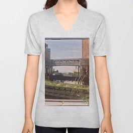 The High Line, New York Unisex V-Neck