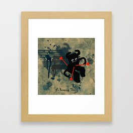 No Escaping This 5 Framed Art Print