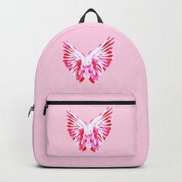Pink Angel Wings Backpack