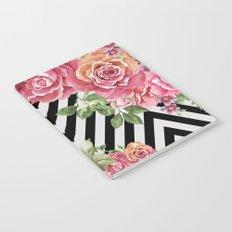 flowers geometric Notebook