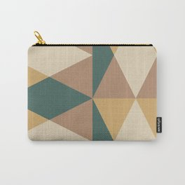 Mid Century Modern Geometric Pattern 437 Carry-All Pouch
