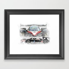 Peugeot 908 Framed Art Print