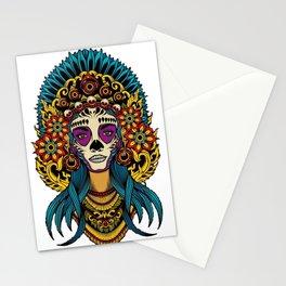 AZTEC--Girl Art Stationery Cards
