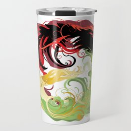 The Wolf and the Halla Travel Mug