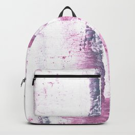 Lavender blush vague watercolor Backpack