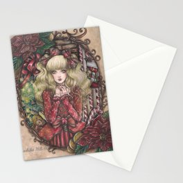 Candy Christmas Stationery Cards
