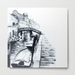 Italian Highway Metal Print