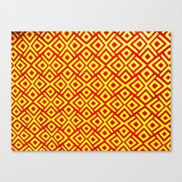 African Motif Canvas Print