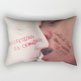 EVERYTHING IS CHANGING Rectangular Pillow