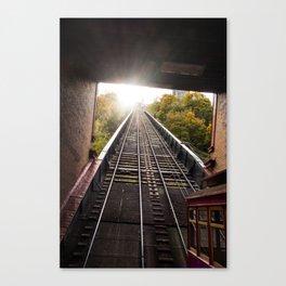 Duquesne Incline Rail Canvas Print