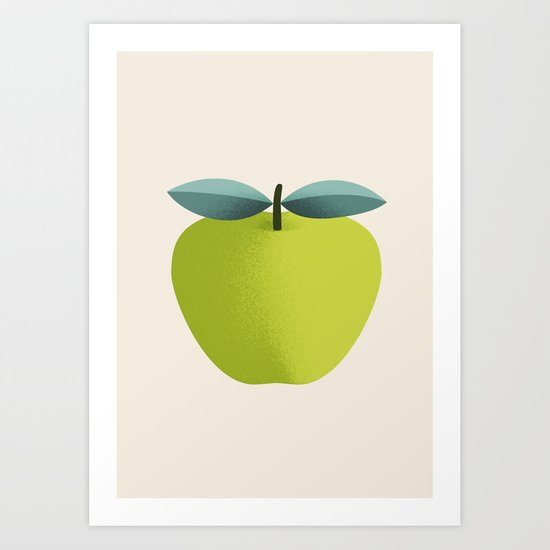 Apple 31 Art Print