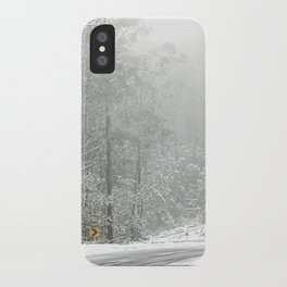 Down the Summit iPhone Case
