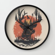 Look Deep Into Nature Wall Clock