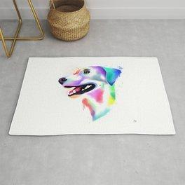 Rainbow Lab Rug