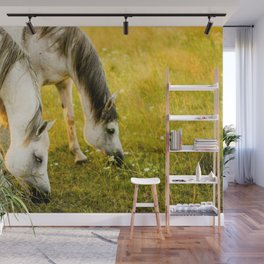 horse by cancan cop Wall Mural
