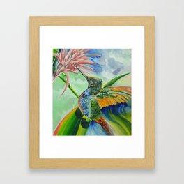 Free of Time Framed Art Print