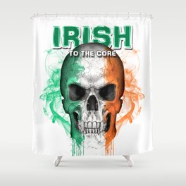 To The Core Collection: Ireland Shower Curtain