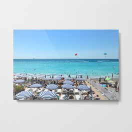Nice Beach 2 Metal Print