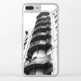 Warehouse District Architecture Hamburg Clear iPhone Case