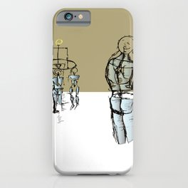 Glass people iPhone Case