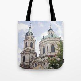 Church in Prague Tote Bag