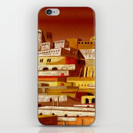 The fortress at sunset iPhone Skin