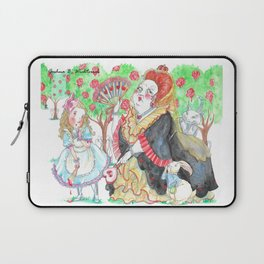 Alice's Adventures In Wonderland: Queen Of Hearts Laptop Sleeve