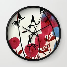 Bon Matin Wall Clock