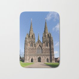 Lichfield cathedral Bath Mat