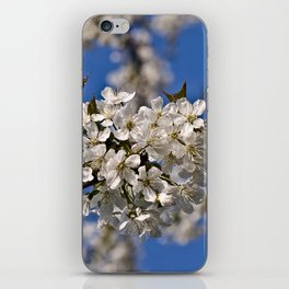 Magic White Cherry Blossom Dream iPhone Skin