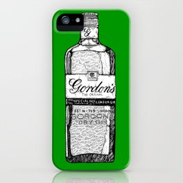 The Green God iPhone Case