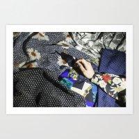 charmaine Art Prints featuring Smoke by Charmaine de Heij - Travel Photography