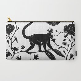Singerie Carry-All Pouch