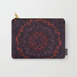 Swirling Mandala Carry-All Pouch