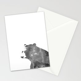graphic bear II Stationery Cards