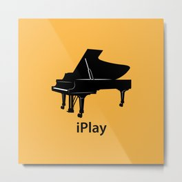 iPlay Metal Print