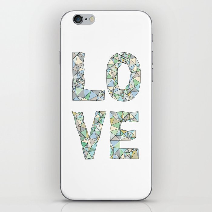 A Four Letter Word iPhone Skin