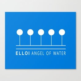 ELLOI ANGEL OF WATER Canvas Print
