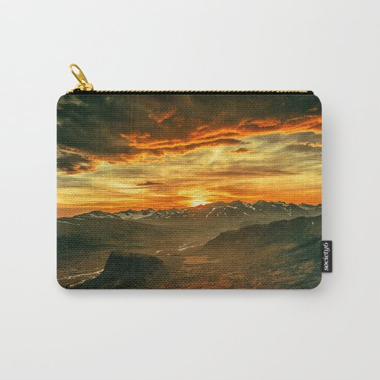 Mountains Ablaze Carry-All Pouch