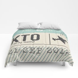Travel Tag Comforters