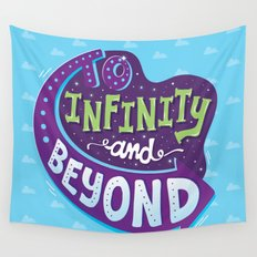To Infinity And Beyond Wall Tapestry