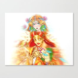 Maiden, Mother, Crone Canvas Print