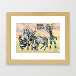 DEGKA Framed Art Print
