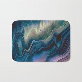 Colorful agate III Bath Mat