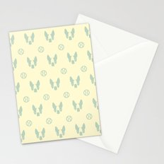 Boston Terrier & ball II. Stationery Cards