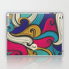 out waves Laptop & iPad Skin