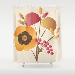 Memorable Florals Shower Curtain