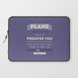 For I Know the Plans Laptop Sleeve
