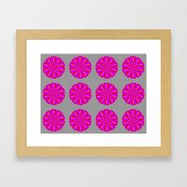 red marts Framed Art Print