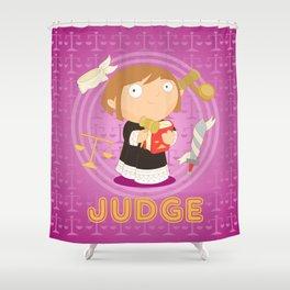 Judge Shower Curtain